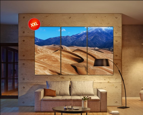 Great Sand Dunes  canvas wall art Great Sand Dunes wall decoration Great Sand Dunes canvas wall art art large canvas wall art  wall decor