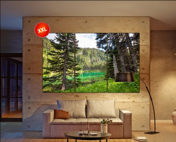 Olympic National Park  canvas Olympic National Park wall decoration Olympic National Park canvas art large canvas