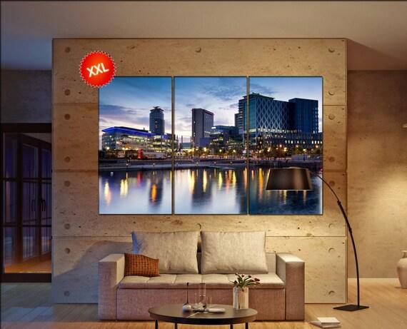 manchester  canvas wall art manchester wall decoration manchester canvas wall art art manchester large canvas wall art  wall decor