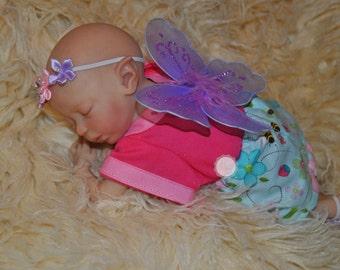 Mini Fairy Zodi Reborn Doll by Marita Winters