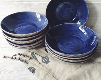 Ceramic Plate, handmade pottery rustic