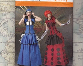 Doctor Who-Inspired Costume Pattern by LoriAnn Costume Designs, Simplicity 1095