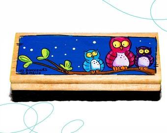 Brosse tableau, hiboux, cadeau, enseignant(e), enfant, primaire