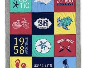 Sunset Beach (1) Destination Blanket