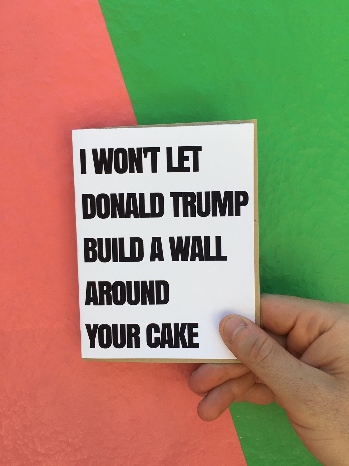 trump birthday card | etsy