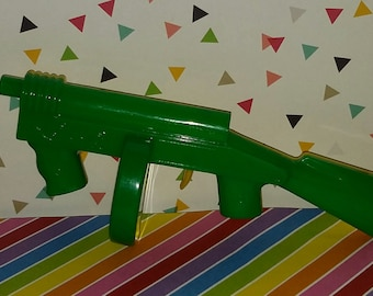 Vintage 1950s Old Store Stock Tommy Gun Toy Clicker