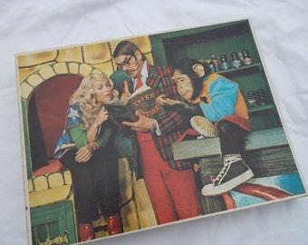 Vintage, 1972, Ti-Ta tovenaar, Puzzle, Max Appelboom Produkties,