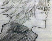 Anime Commission Hand-Drawn pen/pencil and paper custom cheap