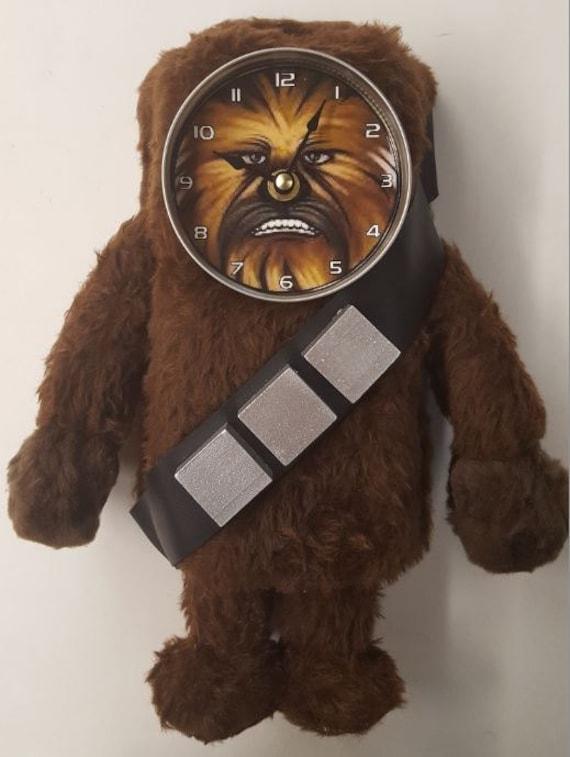 Handmade Chewbacca - Wookie Clock