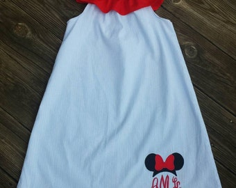 Minnie mouse dress, Disney dress, Minnie birthday, Disney birthday, girls dress, girls clothing