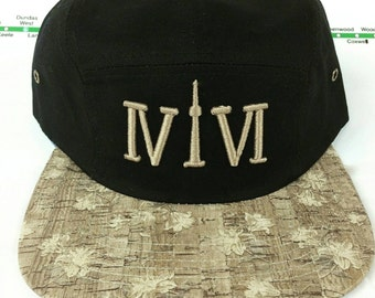 416 Collection Cork Brimmed 5 Panel Hats! YYZ, GTA, CN Tower, ovo, Area Code in 416 Roman Numerals, Cork, 6ix, Drake, More Life, Views, TDot