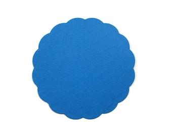 Large Scalloped Circle Set of 25