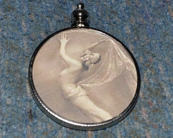 Vintage Burlesque Dancer charm