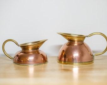 Pair of cider jugs