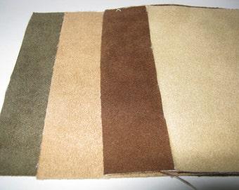 8pcs Scrap Micro Fabric for Crafts 12.5 x 12.5 cm