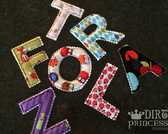Themed Magnetic Letter (INDIVIDUAL)
