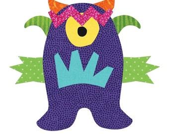 Sizzix Bigz Die - Monster # 660069