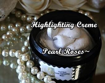 Highlighting Creme Pearl Rose Blush~Aloe Vera & Shea Butter Based To Pamper Your Skin~