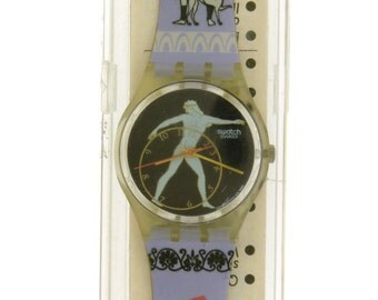 Swatch Watch 1991 DiscoBolus (GK141) Plastic Quartz Watch