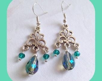 Angel Tears Teardrop Earrings. Ideal Gift