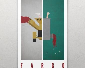 Fargo Woodchipper/Meat Grinder Poster