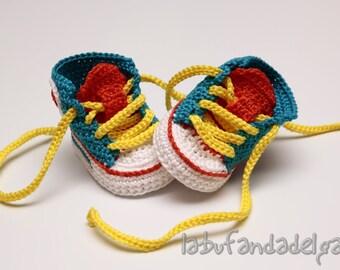 Crochet Converse All Star