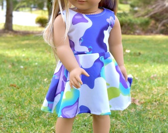 American Gile doll Dress with Hair Clip
