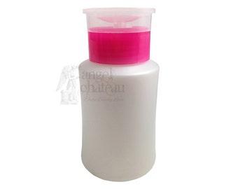 Nail Polish Remover Empty Bottle Pump Dispenser Container 5oz/150ml