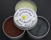 Two Beekeepers Old-Fashioned All-Natural Boot Polish