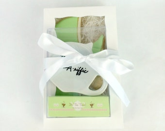 You're TEA-riffic Cookie Gift Box - Tea Time Cookies and Tea Rest