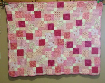 Pink Crib Quilt