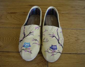 Cherry Blossom Custom Shoes