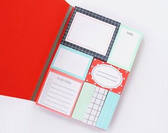 Hema Sticky Notes Book Geometric HSN01