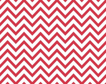 "Red Chevron Stripes Tissue Paper 20"" X 30"" - 24 Sheet Count"