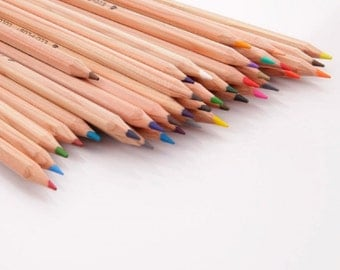 Marco Fine Drawing Pencils 36 Colors and Pencil Sharpener Set....Free Shipping in US!