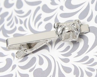 ON SALE Dog Pet Animal Lover Tie Clip Bar Clasp