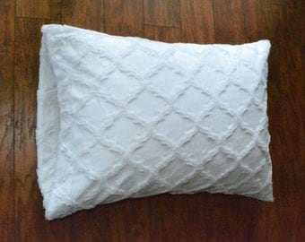 Bride pillowcase, Minky pillowcase.
