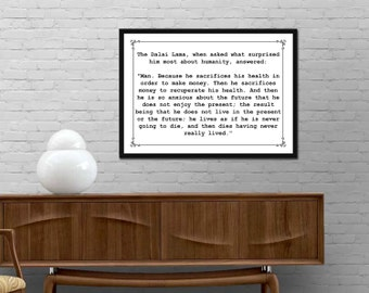 Quote wall art | Etsy