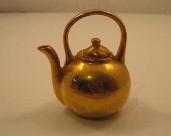 Gold Doll House Tea  Pot
