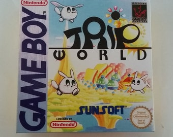 Trip World For Nintendo Game Boy Complete