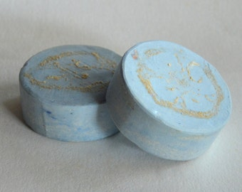 EXFOLIATING MARINE SOAP - natural handmade soap with loofah  / all natural soap / Marine  soap / olive oil soap
