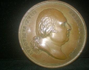 French Bronze Commemorative l821