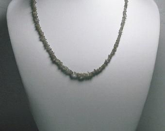 SAVE 20% Sweet Color Change Garnet Necklace 17.5inch