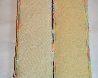 Set of 6-Organic Hemp Doublers- 2 ply liners-Organic Hemp Soakers