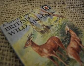 British Wild Animals. A Vintage Ladybird Book. Series 536. 1974