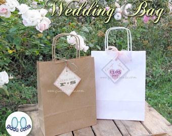 CUSTOM WEDDING BAG-set 15 bags