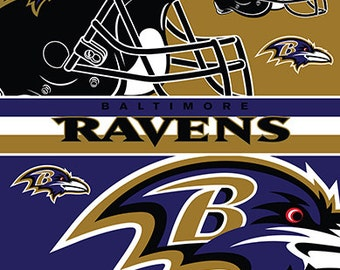 Baltimore Ravens Beach Towel For 2 54x68