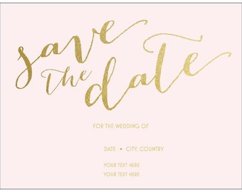 50 Wedding Save the Date Magnet