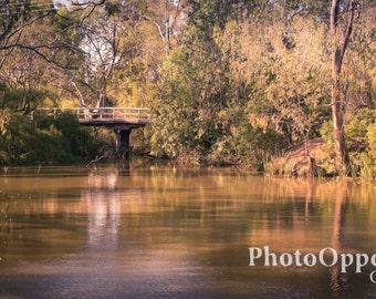 Buckley Park Bridge, Nagambie - The Water Ways.