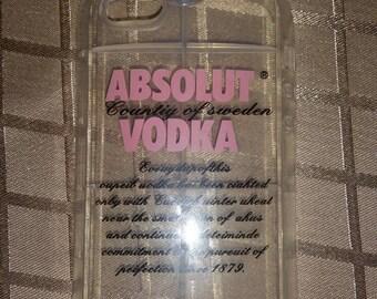 Iphone 6plus vodka bottle case